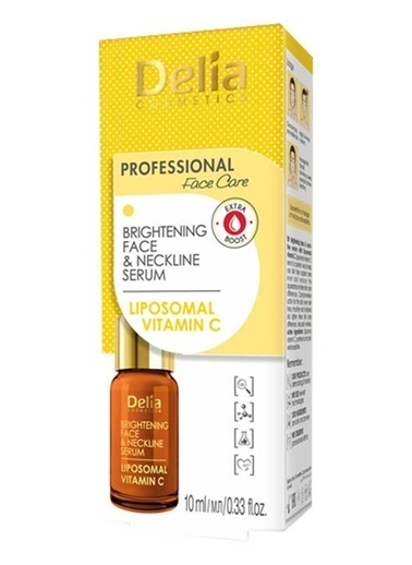 Delia Delia Brightening Vitamın C Face Neckline Serum 10 ml Renksiz
